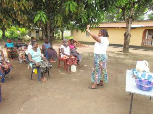 The Water Project:  Disease Transmission Through Handshaking Lesson