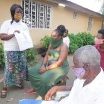 The Water Project: Lungi, Suctarr, #3 Lovell Lane -  Hygiene Facilitator Teaching About Bad Hygiene Practices