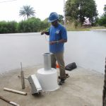 The Water Project: Lungi, Suctarr, #3 Lovell Lane -  Testing Well Depth And Static Level