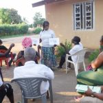 The Water Project: Lungi, Suctarr, #3 Lovell Lane -  Hygiene Facilitator Teaching