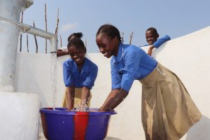 The Water Project:  Students Joyfully Celebrating And Splashing Water