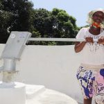 The Water Project: Lungi, Suctarr, #1 Kabbia Lane -  Collecting Clean And Safe Water