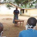 The Water Project: Lungi, Suctarr, #1 Kabbia Lane -  Hygiene Facilitator Teaching About Balanced Diets