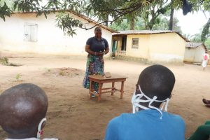 The Water Project:  Hygiene Facilitator Teaching About Balanced Diets