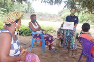 The Water Project:  Teaching Clothesline Use And Importance