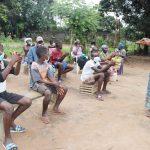 The Water Project: Lungi, Suctarr, #1 Kabbia Lane -  Hygiene Facilitator Teaches Handwashing