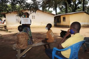 The Water Project:  Teaching Proper Latrine Use And Care