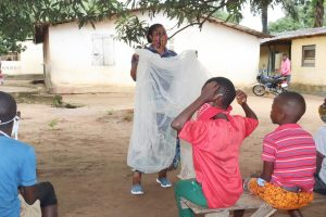 The Water Project:  Malaria Prevention And Mosquito Net Use Session