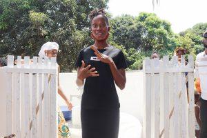 The Water Project:  Kadieatu Kamara