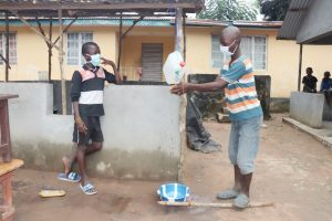 The Water Project:  Kids Demonstrate Handwashing With A Tippy Tap