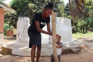 The Water Project:  Handwashing Before Dedication Ceremony