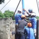 The Water Project: Lungi, Tintafor, St. Augustine Senior Secondary School -  Drilling