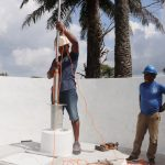The Water Project: Lungi, Tintafor, St. Augustine Senior Secondary School -  Pump Installation
