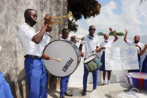 The Water Project:  Students Celebrating With Music