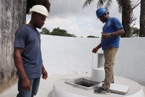 The Water Project:  Checking Well Depth And Static Water Level