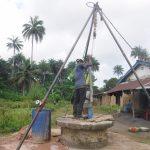 The Water Project: Lokomasama, Conteya Village -  Bailing