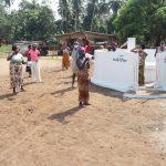 The Water Project: Lokomasama, Conteya Village -  Community Members Celebrating At The Well