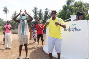 The Water Project:  Councilor Paul Dixion Celebrates With The Community
