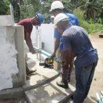 The Water Project: Lokomasama, Conteya Village -  Pump Installation