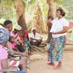 The Water Project: Lokomasama, Conteya Village -  Hygiene Facilitator In Action