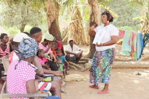 The Water Project:  Hygiene Facilitator In Action