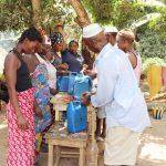 The Water Project: Lokomasama, Conteya Village -  Making Tippy Taps