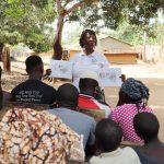 The Water Project: Lokomasama, Conteya Village -  Hygiene Training