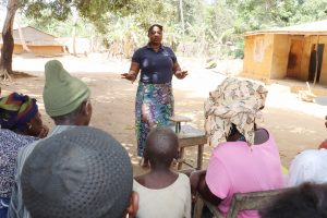 The Water Project:  Facilitator Teaches Importance Of A Balanced Diet