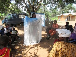 The Water Project:  Teaching Importance Of Using Mosquito Nets