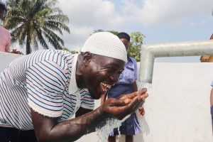 The Water Project:  Teacher Happy For Clean And Safe Water