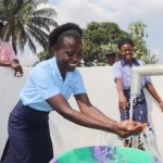 The Water Project: Sulaiman Memorial Academy Jr. Secondary School -  Enjoying Clean Water