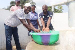 The Water Project:  Teachers Splashing Water
