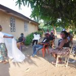 The Water Project: Lungi, Suctarr, #3 Lovell Lane -  Teaching Mosquito Net Importance And Use