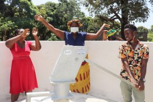 The Water Project:  Community Members Celebrate Safe Drinking Water