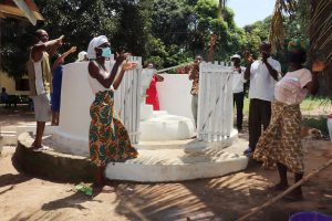 The Water Project:  Community Members Celebrate The Well