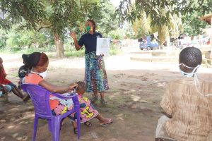 The Water Project:  Discussing Good Hygiene Practices