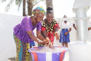 The Water Project:  Teachers Celebrating And Splashing Water