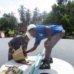 The Water Project: Lokomasama, Conteya Village -  Chlorination