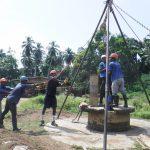 The Water Project: Lokomasama, Conteya Village -  Drilling
