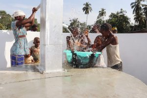 The Water Project:  Kids Celebrating And Splashing Water