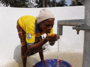 The Water Project:  Drinking Clean And Safe Water