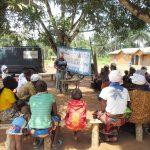 The Water Project: Lokomasama, Rotain Village -  Hygiene Facilitator Teaching About Balanced Diets