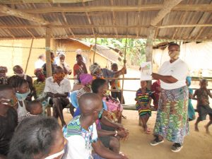 The Water Project:  Discussing Bad Hygiene Practices