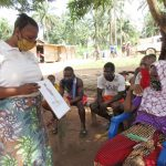The Water Project: Lokomasama, Rotain Village -  Discussing Bad Hygiene Practices