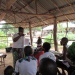 The Water Project: Lokomasama, Rotain Village -  Teaching Latrine Use And Importance