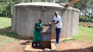 The Water Project:  Field Officer Erick And Marion