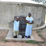 The Water Project: Mabanga Primary School -  A Year Later Clean Water Still Flowing