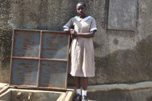 The Water Project:  Amisa At The Rain Tank