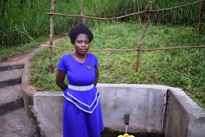 The Water Project:  Mercyline Andala