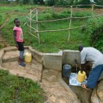 The Water Project: Eshiakhulo Community, Kweyu Spring -  At The Spring